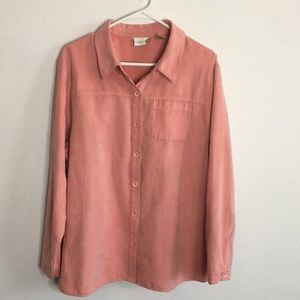 Studio Works Button Down Blouse